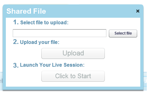 where to upload documents in gte section of application