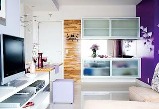 mobiliário minimalista moderno