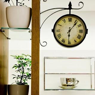 Ideias de decoração mobiliário | relógio de cozinha.