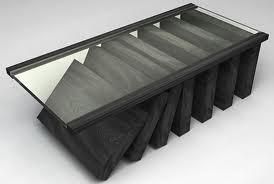 Ideias decoração mobiliário | Mesa de centro moderna com tampo vidro
