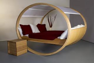 ideias decoracao mobiliario | cama casal baloiço