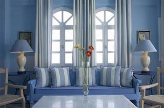 Sofá azul