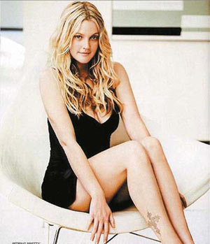 Drew Barrymore Actress Hot Bodies