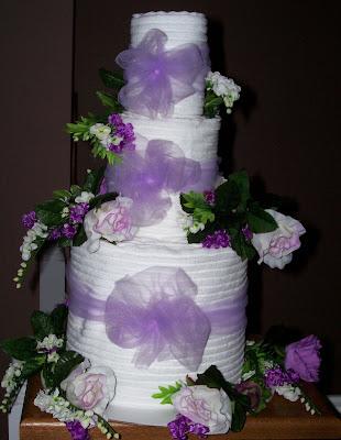 Diaper Cakes Wedding 39Towel 39 Cakes
