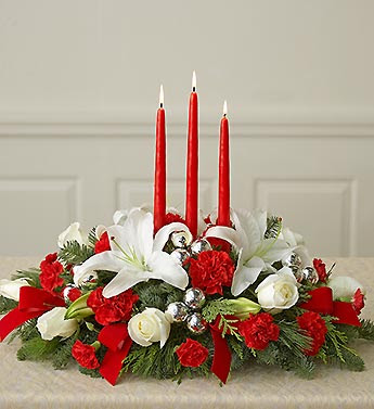 Make and create a wonderful fresh flower centerpiece for your holiday table,