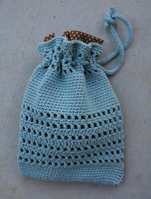 Crochet Bag And Pattern : CROCHET PROJECT BAG ? Crochet For Beginners