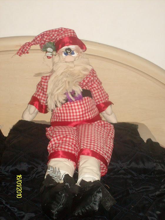 Papa Noel Noela de 1.20 mts.
