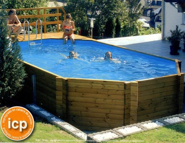 Garden center ejea piscinas piscina para jard n korfu for Piscinas desmontables rigidas