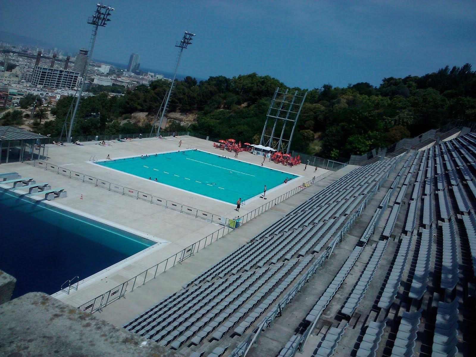 Cosas para hacer en barcelona asa 2010 piscina picornell - Piscina en barcelona ...