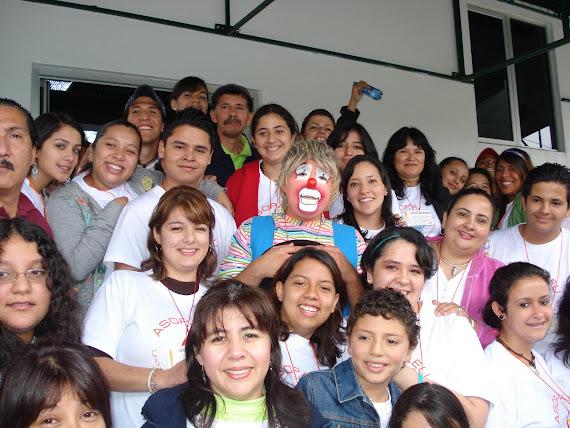 Voluntarios mensajeros de esperanza...