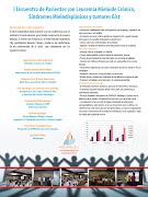 Afiche presentado en la Alianza Latina