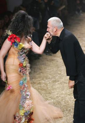 Crystal Renn, Jean-Paul Gaultier