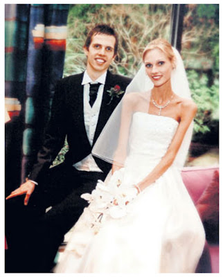anorexia, bride, anorexic, Laura Wilson