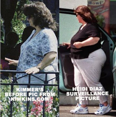 Heidi Diaz showing no weight loss