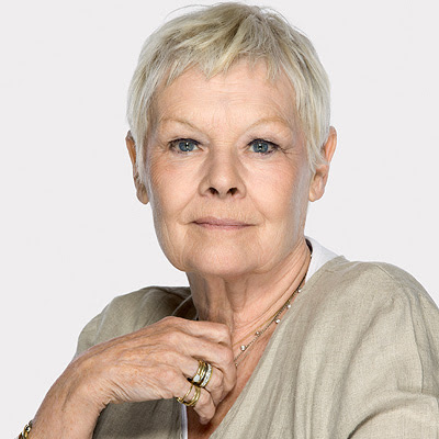 Judi Dench Hairstyle - layered hairstyles