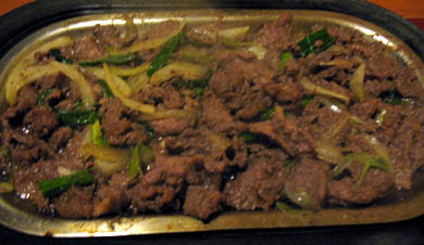 Bulgogi, Korean Grilled Beef