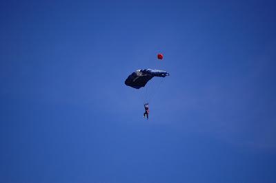 2nd parachute opens