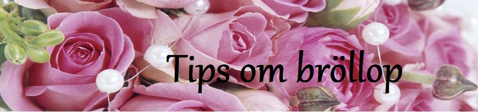 Tips om bröllop