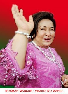 Datin Rosmah Mansor bertanding PRU 13?