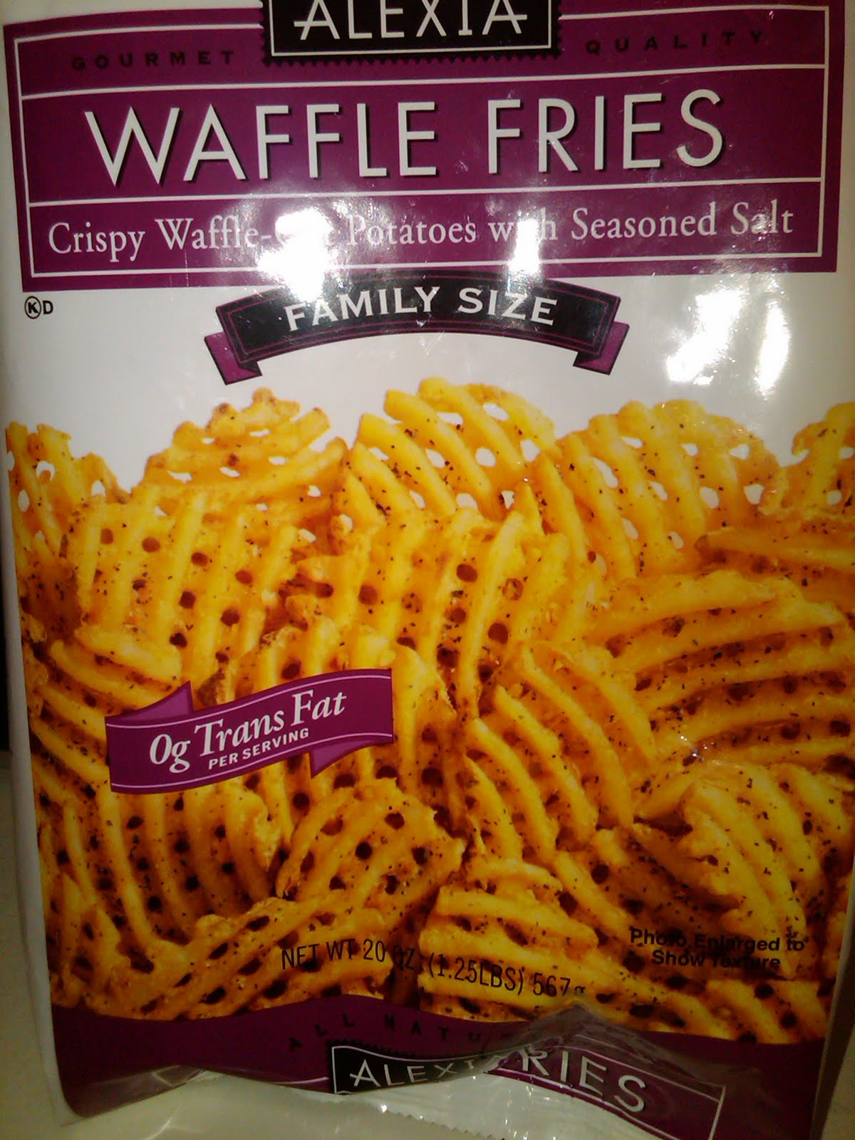 French Fry Diary: French Fry Diary 104: Alexia Waffle Fries