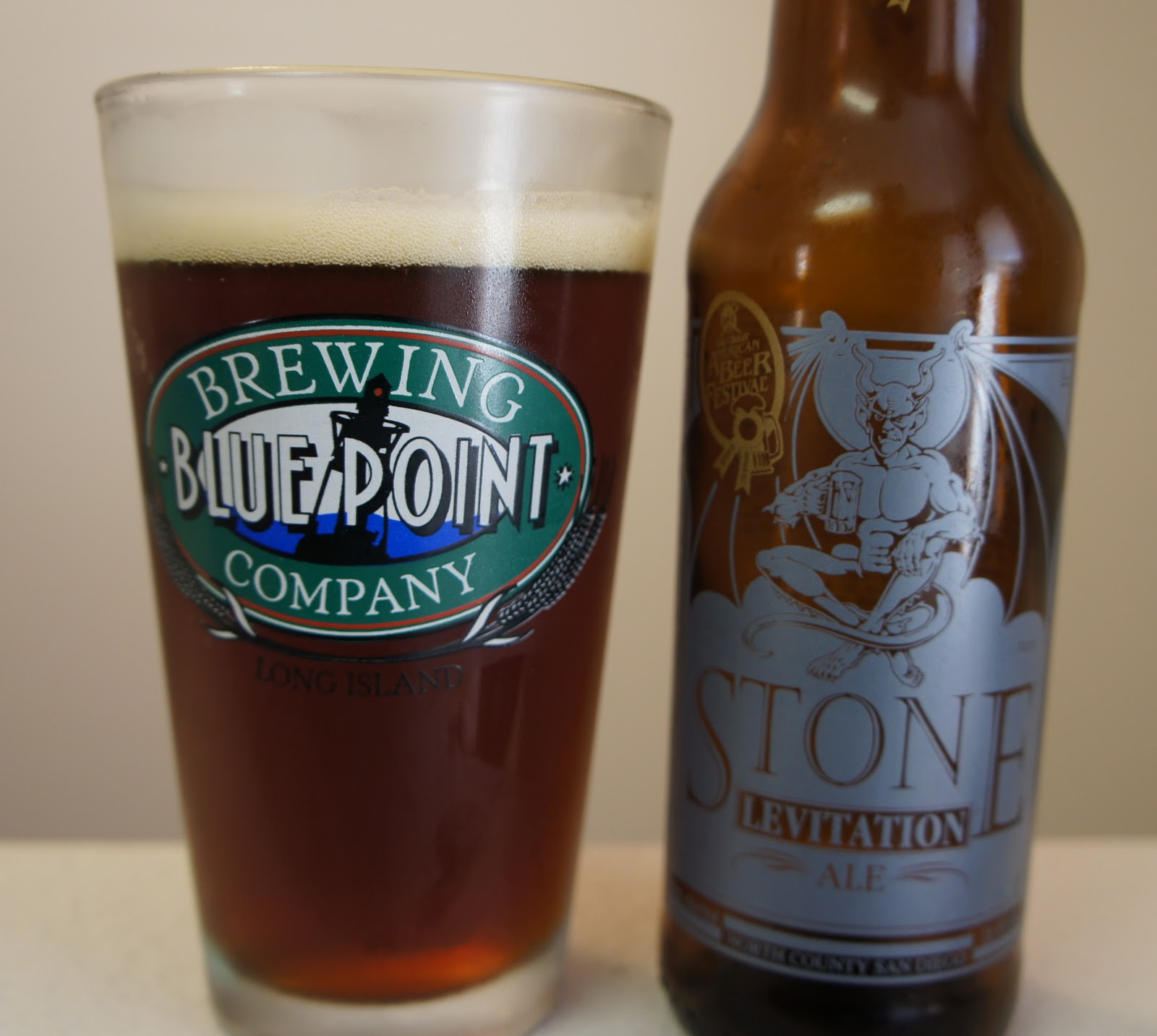 Stone Levitation Ale : Gulp beer stone brewing co levitation ale