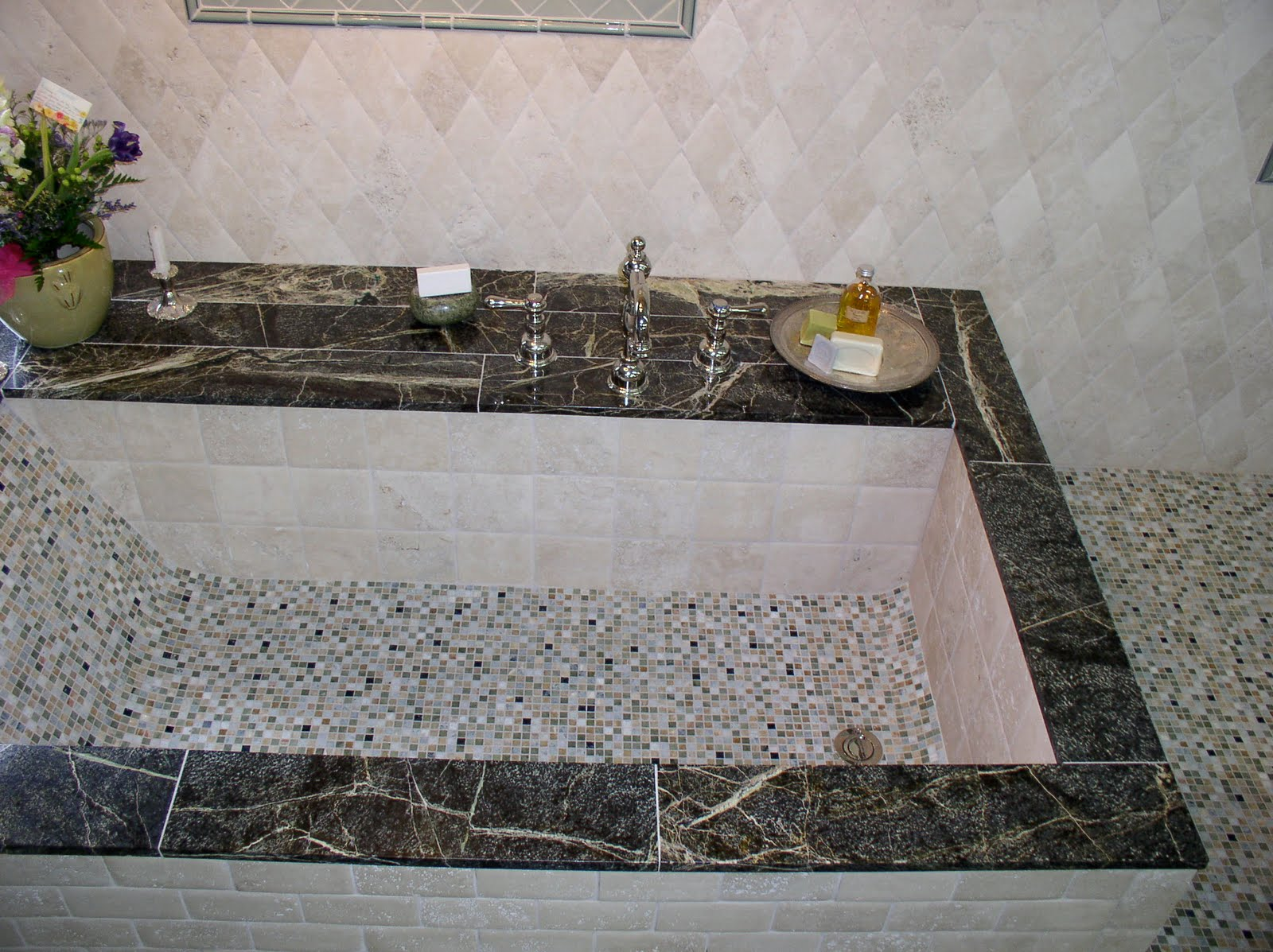 Bergerson Tile and Stone: AMAZING BATHS