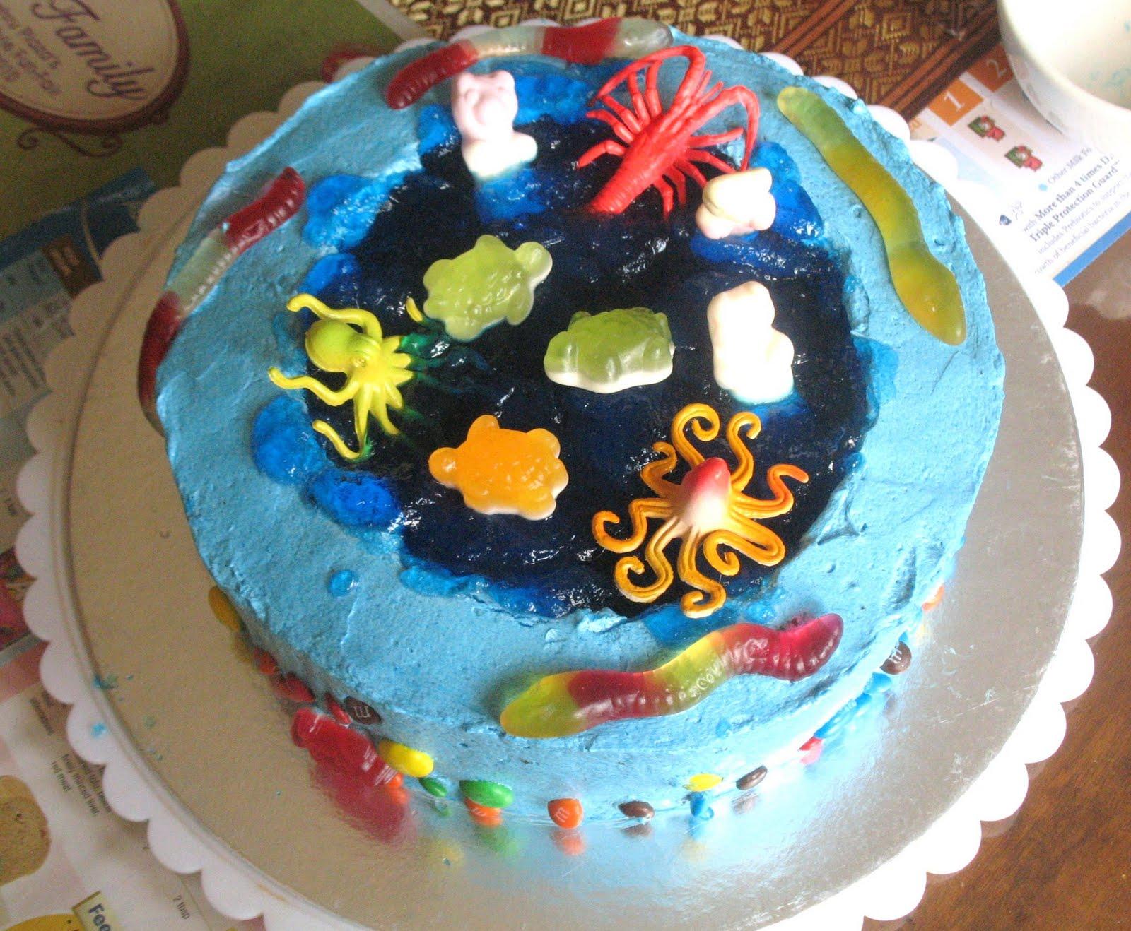5 Loaves 2 Fish Under The Sea Birthday Cake