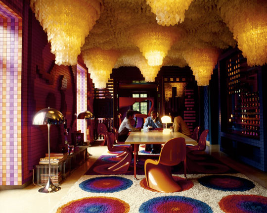 Modern Exhibition Stand Year : Douglascain interior inpiration verner panton