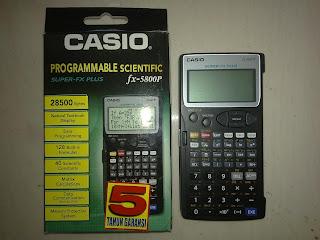 casio fx 911w Compares
