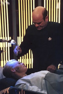 Medicino en tv-serio StarTrek