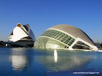 El Palau de les Arts Reina Sofía and Hemisferic, Valencia