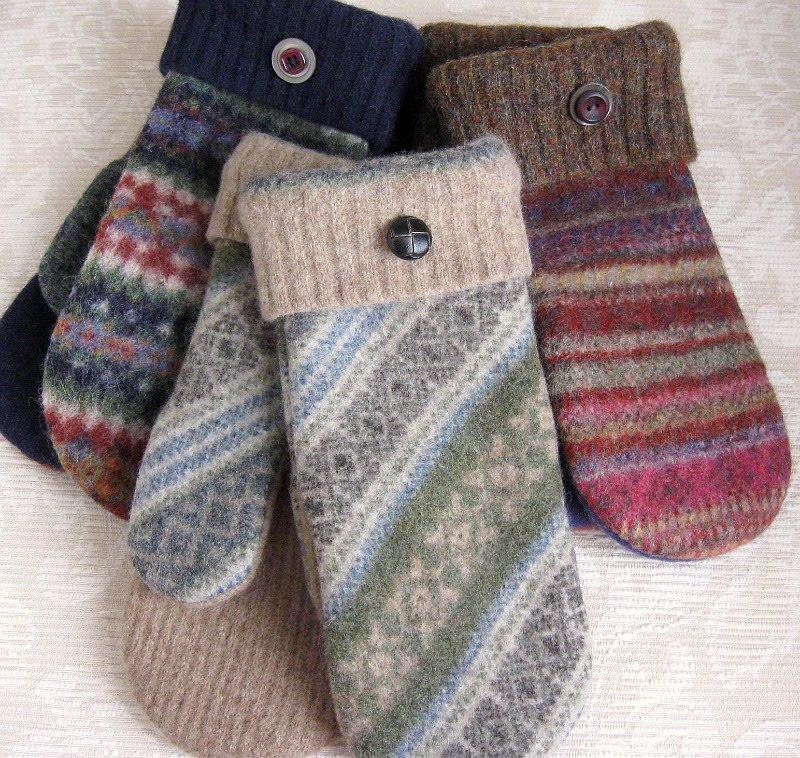 FeltSewGood: Warm Woolen Mittens