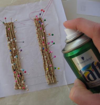 Liberty biberty how i drape fabric and make mini curtains - Comment doubler un rideau ...