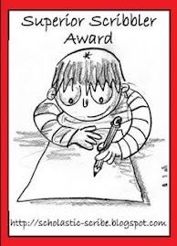 Premiata din nou de Carmen - Superior Scribble Award - Multumesc!
