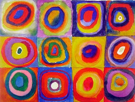Culori si forme cu Wassily Kandinsky