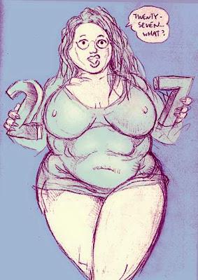 Zaftig Woman
