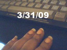 Angelika's Fingernails 2009