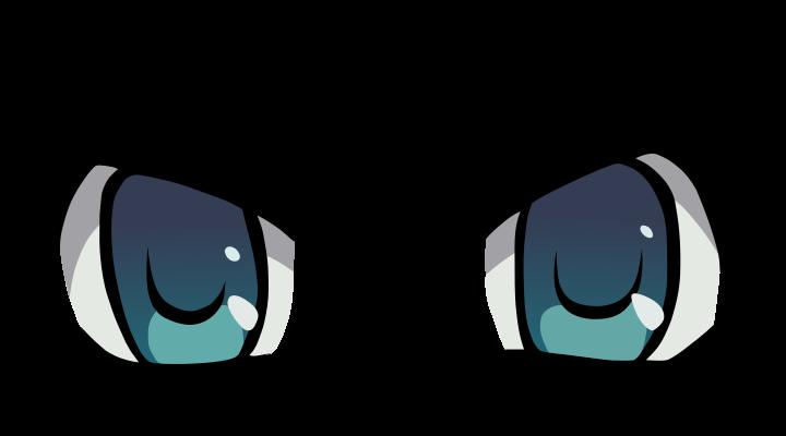Dibujos de ojos anime - Imagui