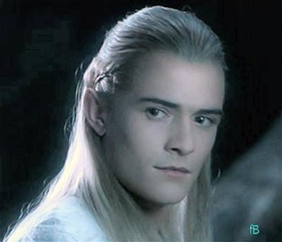 Legolas, en halvgudomlig vacker alv i Tolkiens tappning