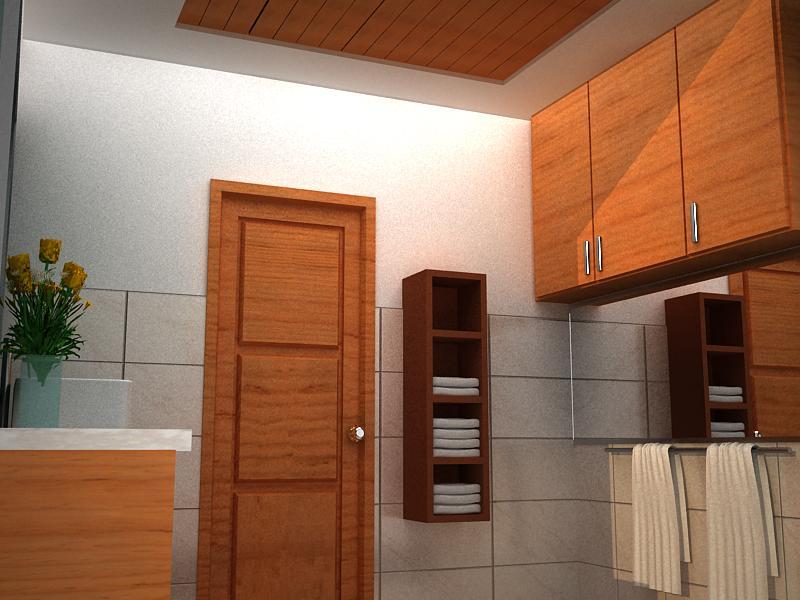 Interior Design Freelance Toilet Design
