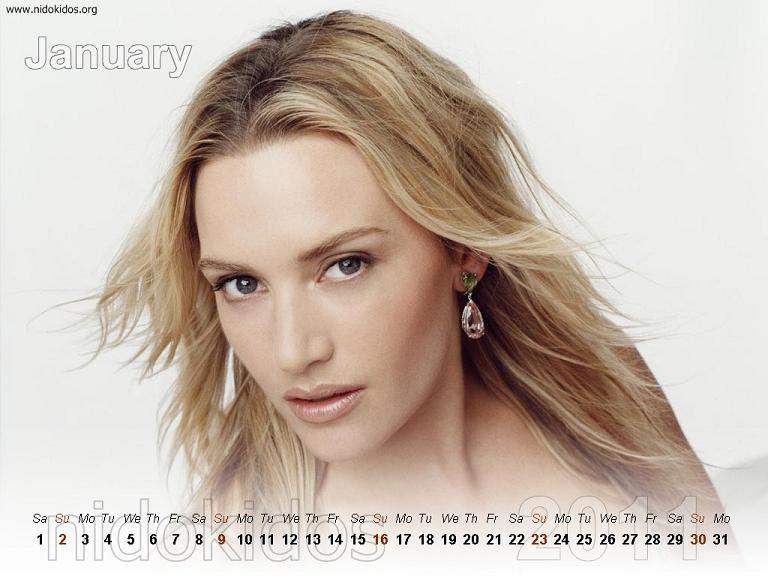 20+ Fantastic 2011 Desktop Wallpaper Design Kate Winslet Calendar 2011