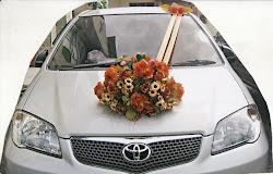 Contoh Rangkain Bunga Mobil