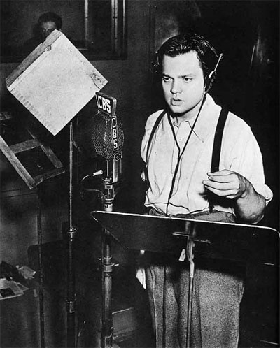 Welles at work