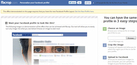 Into your facebook huge selection of banners Feature you can upload Upcoming
