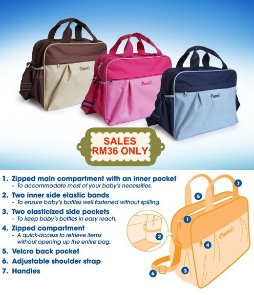 it 39 s all about shopping online sales pureen diaper bags. Black Bedroom Furniture Sets. Home Design Ideas