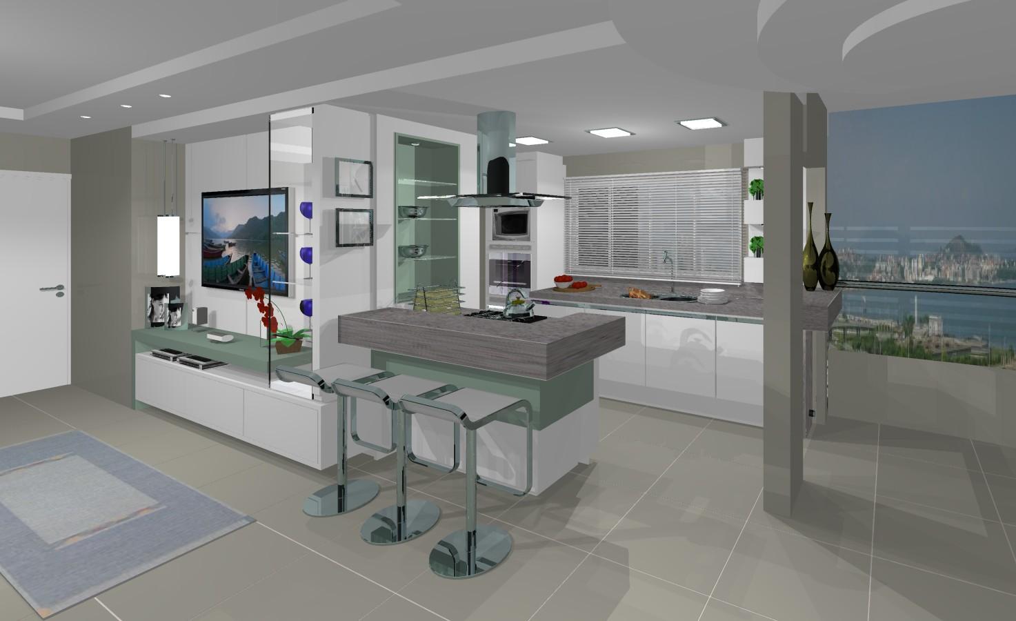 Talentos Móveis: cozinha conjugada 2 #364667 1473 900