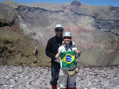 foto: Asceno ao Vulcão Vila Rica - Pucon -Chile