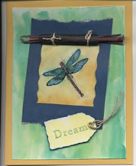 DREAM DRAGONFLY CARD