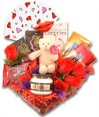 Sweets For My Sweetheart – Valentine's Day Gift Basket: