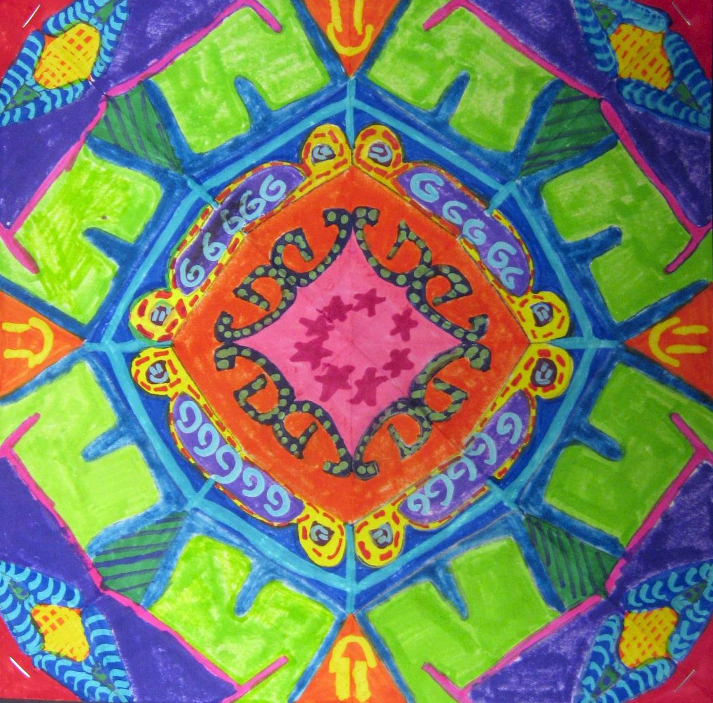 Basic Art Designs : Art is basic teacher islamic tile design